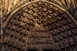 Fronton Cathédrale de Strasbourg