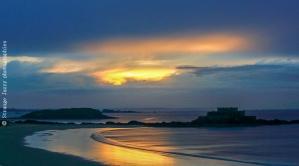 Saint Malo Sunset