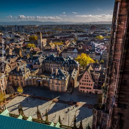 Depuis le haut de la cathédrale