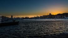 Sunset sur le Vieux Port