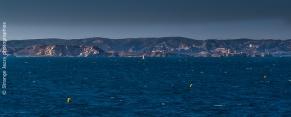 Les îles du Frioul , le château d'If