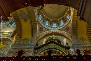 Intérieur cathédrale Sainte-Marie Majeur