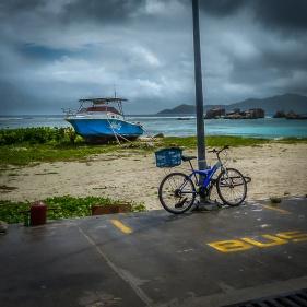 """Sur la """"jety"""" , île de La Digue"""