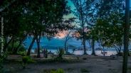 La Digue avant le coucher du soleil