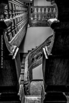Wooden stairs, Strasbourg