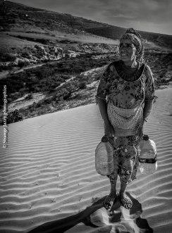 Porteuse d'eau, Maroc