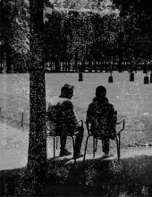 Conversation, Tuileries