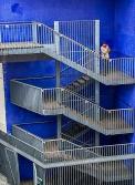L'escalier bleu, Paris