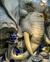 Un éléphant dans un magasin de porcelaines