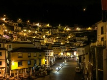 Cudillero by night, Spain