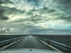 On the road Islande